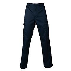 Pantalón cargo forro polar azul marino 58
