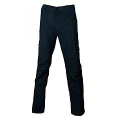 Pantalón cargo poplin azul marino M