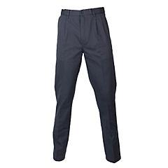 Pantalón gabardina algodón con pinzas melange medio 58