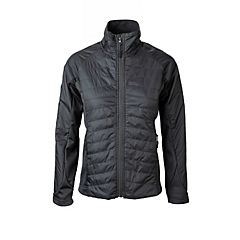 Casaca Windshell mujer gris L