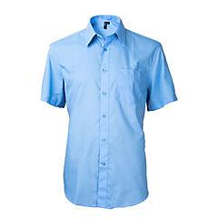 Camisa clásica manga corta celeste 41