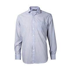 Camisa fantasía comfort manga larga celeste 39