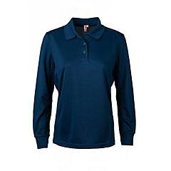 Polera dry fit manga larga mujer azul marino 2XL