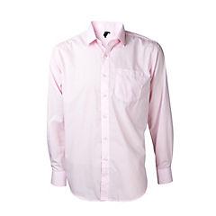 Camisa trevira comfort rosado claro 41