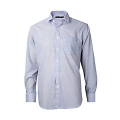 Camisa fantasía comfort manga larga celeste 42
