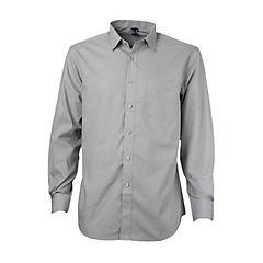 Camisa trevira comfort gris 46