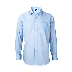 Camisa trevira comfort celeste claro 41