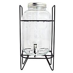 Dispensador de jugo 5 litros con stand metálico