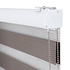 Cortina enrollable duo 150x250 cm tostada