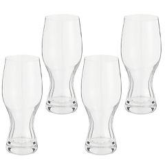 Set 4 copas garza vidrio