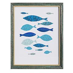 Cuadro relieve 14 peces 43x53cm