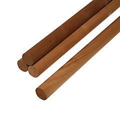 Set de 2 barras de madera de coihue 20mm