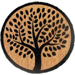 JUST HOME COLLECTION - Limpiapiés Redondo árbol 45x75 cm