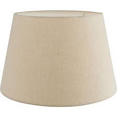 Pantalla lámpara crudo 24x33 cm