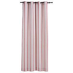 Cortina rayas rosa 225x135 cm