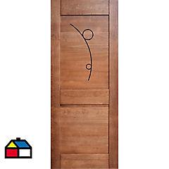 Puerta pino 80x200cms
