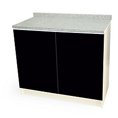 Mueble base 100x50 cm granito negro