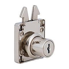 Cerradura para puerta corredera con 2 llaves