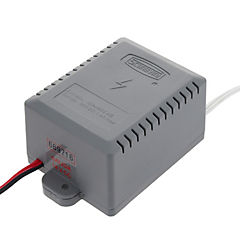 Transformador para cerradura eléctrica de sobreponer