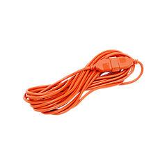 Extensión eléctrica con seguro 10 m Naranjo