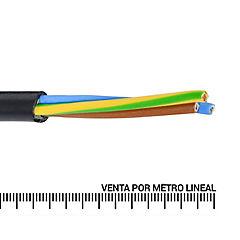 Cordón 3X1,5 mm2 metro lineal Negro