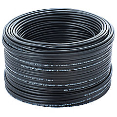 Cordón 25 m Negro