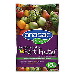 Fertilizante para frutales 10 kg saco