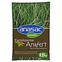Fertilizante para césped 1,5 kg bolsa