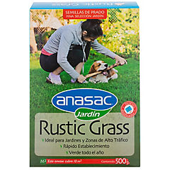 Semilla rustic grass 500 gr caja