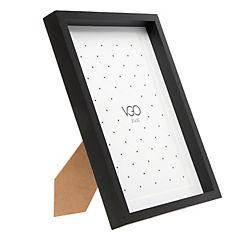 Marco foto 13x18 madera tipo box negro