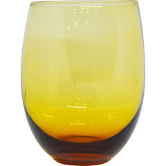 Vaso de Vidrio Ambar