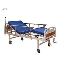 Catre clínico manual 2 posiciones + colchón