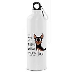 Botella padre chihuahua negro