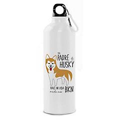 Botella padre husky café