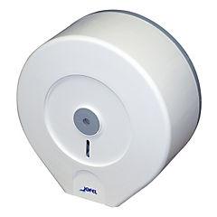 Dispensador papel higiénico jumbo blanco/gris