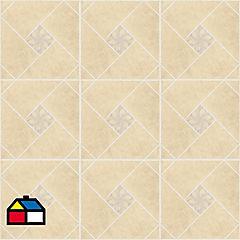 Cerámica 45,3x45 beige 2,05 m2