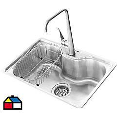 Kit small lavaplato empotrado + monomando