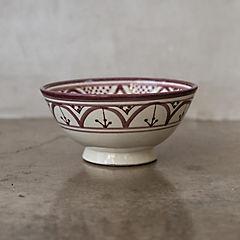 Bowl Marroquí 18 cm cerámica lavanda
