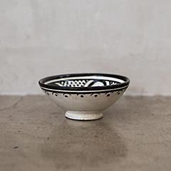 Bowl Marroquí 11 cm cerámica negro