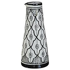 Jarro Marroquí 29 cm cerámica negro