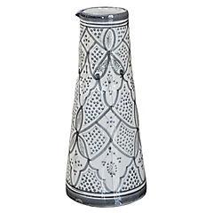 Jarro Marroquí 29 cm cerámica gris