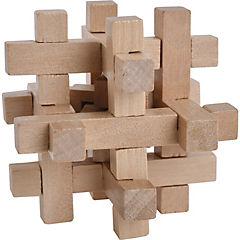 Juego de ingenio madera 12 piezas