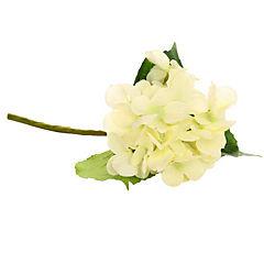 Flor artificial hortensia color blanco