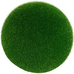Esfera artificial de pasto color verde de 12 cm
