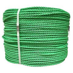 Rollo cuerda polipropileno 8 mm verde