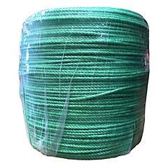Rollo cuerda rafia standard 4 mm verde