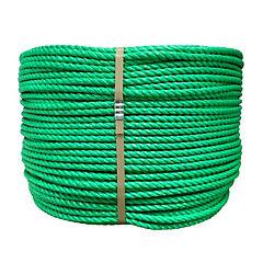 Rollo cuerda rafia standard 10 mm verde