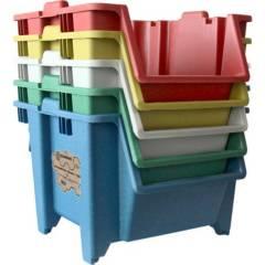 BLUEBEE - Kit reciclaje apilable 5 unidades