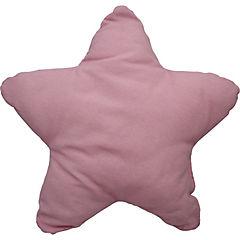 Cojín estrella aqua rosado 50x50 cm
