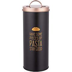 Latón para pasta con tapa cobre